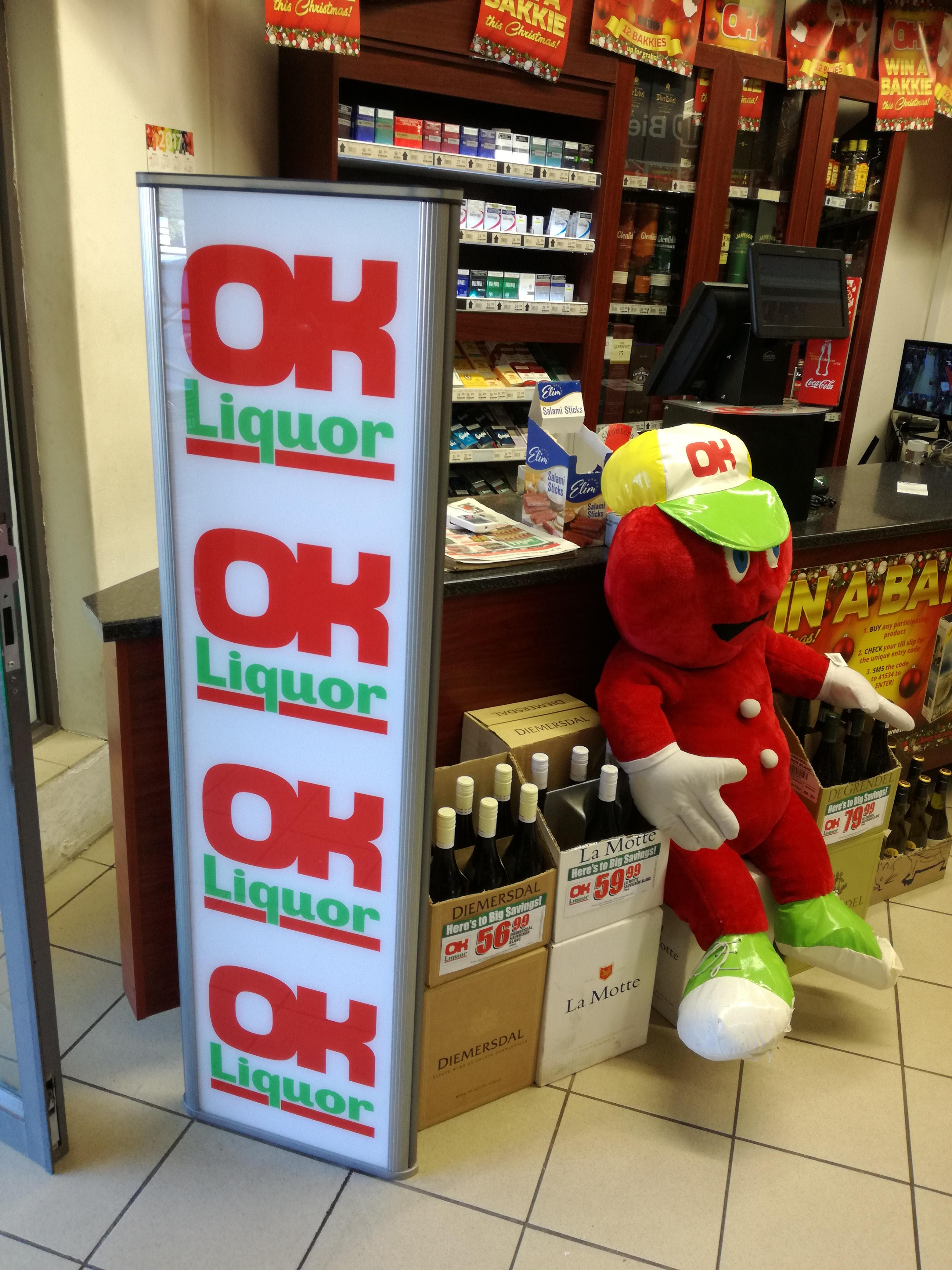 Tagtron - OK Liquor Store